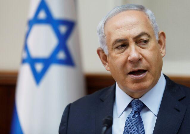 Il primo ministro israeliano Benjamin Netanyahu
