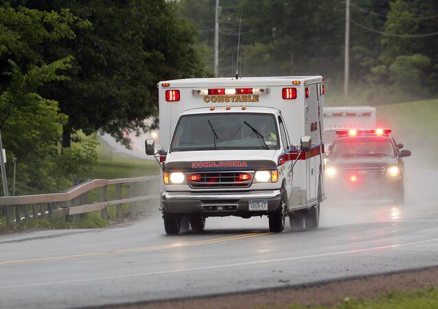 Ambulanza degli Usa