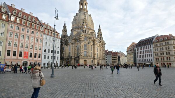 Frauenkirche in Dresden - Sputnik Italia
