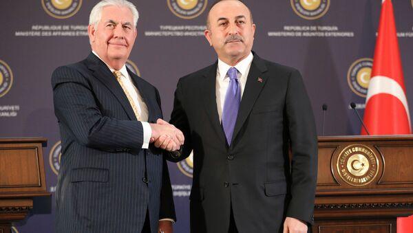 Mevlüt Çavuşoğlu - Rex Tillerson - Sputnik Italia