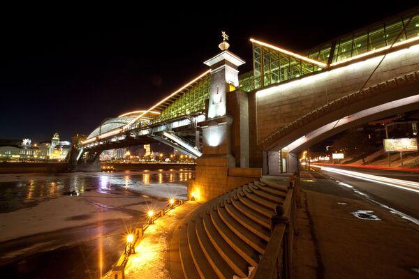 Mosca, bella di notte - Sputnik Italia