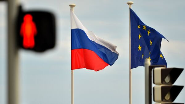 Relations between Russia and the EU have deteriorated with the escalation of the Ukrainian crisis, as western governments imposed economic sanctions on Russia, accusing Moscow of aiding independence supporters in eastern regions of the country. - Sputnik Italia