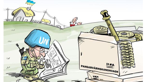 Svezia pronta ad inviare truppe in Donbass - Sputnik Italia