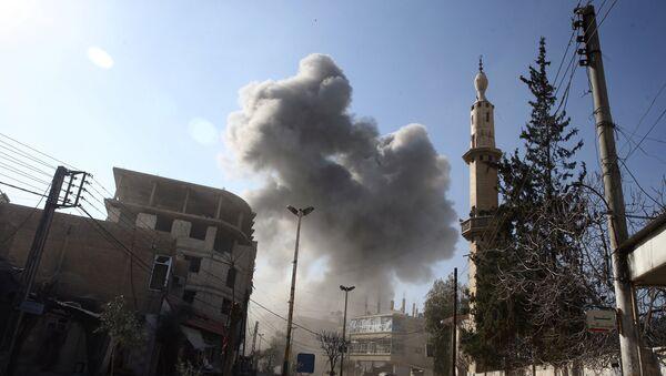 Ghouta dell'est, Siria - Sputnik Italia