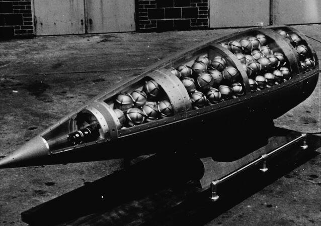 Demonstration cluster bomb
