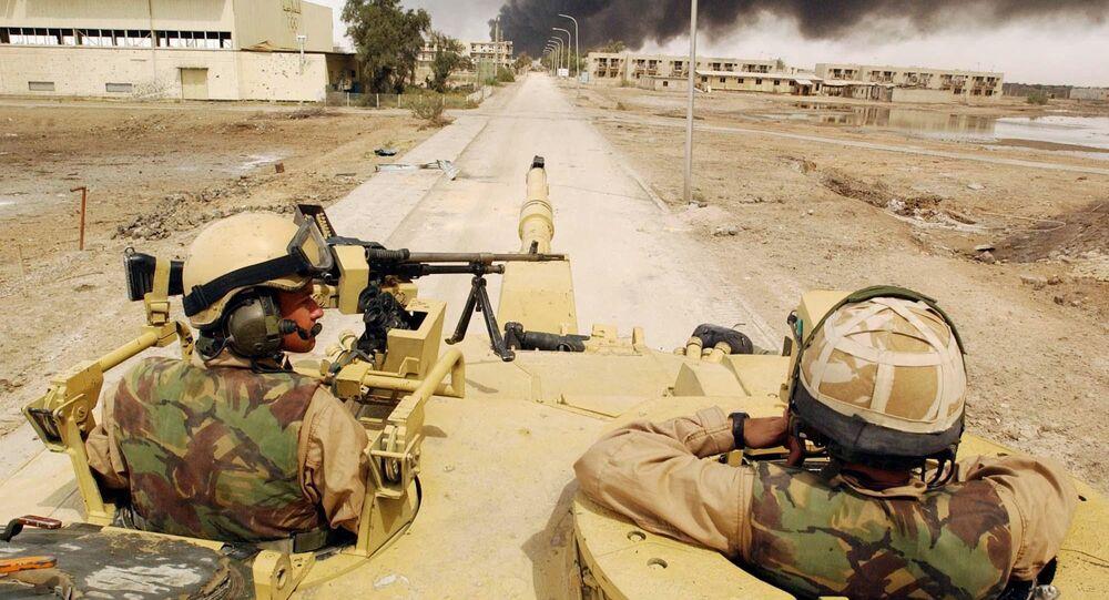 Invasione dell'Iraq nel 2003 (foto d'archivio)