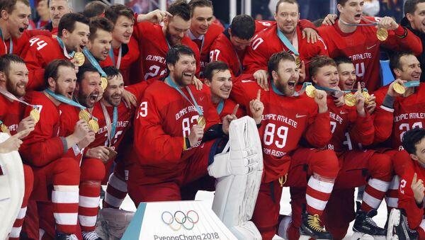 Hockey su ghiaccio - Pyeongchang 2018 - Russia - Germany - Sputnik Italia