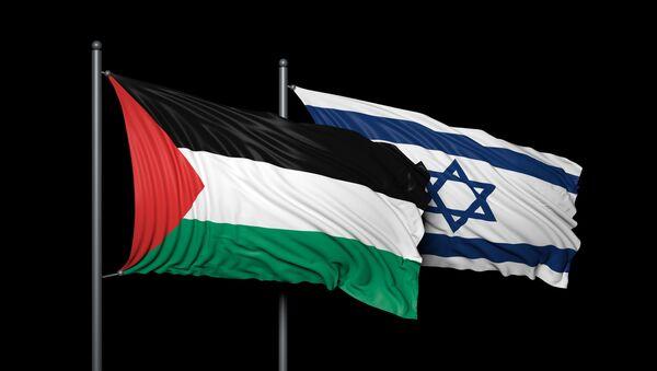 Bandiere di Israele e Palestina - Sputnik Italia