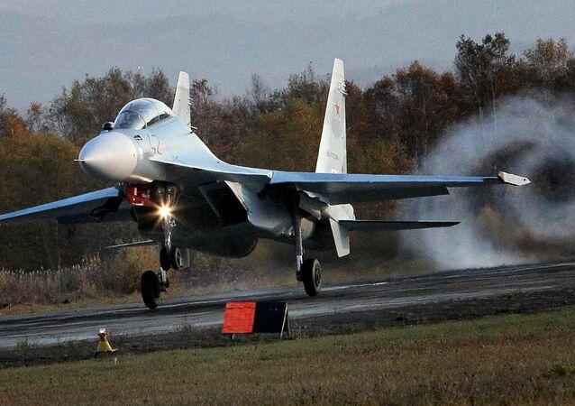 Caccia multifunzionale Su-30 (foto d'archivio)