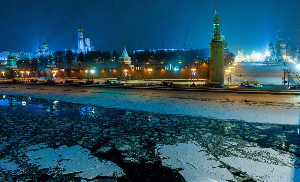 La Moscova gelata
