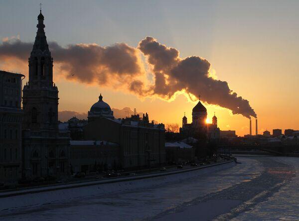 La Moscova gelata - Sputnik Italia