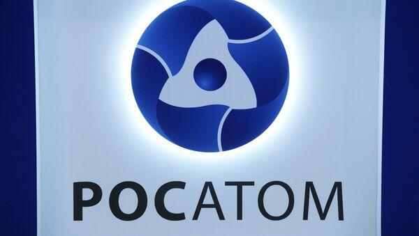 Логотип государственной корпорации по атомной энергии Росатом - Sputnik Italia