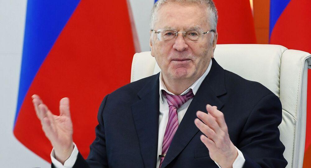 Vladimir Zhirinovsky, leader del Partito Liberal-Democratico di Russia (LDPR)