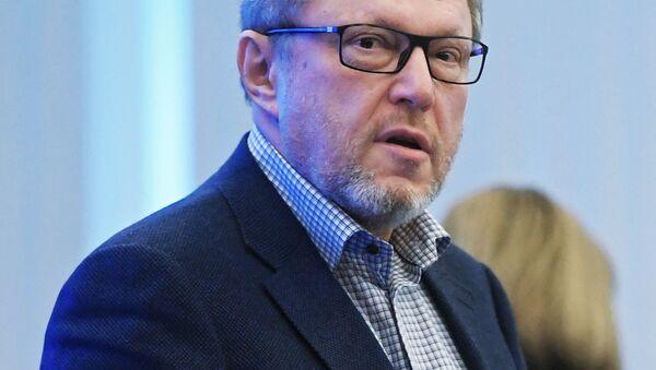 Il candidato alla presidenza Grigory Yavlinsky del partito Yabloko - Sputnik Italia