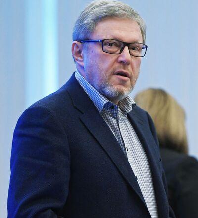 Il candidato alla presidenza Grigory Yavlinsky del partito Yabloko