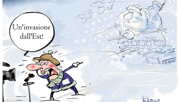 L'ondata di freddo in Europa proveniva dalla Siberia. - Sputnik Italia