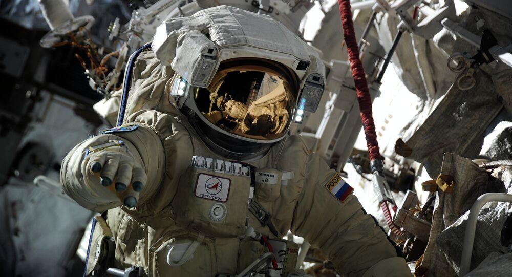 Il cosmonauta russo Alexander Misurkin