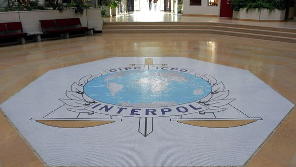 This Oct.16, 2007 file photo shows the entrance hall of Interpol's headquarters in Lyon, central France - Sputnik Italia