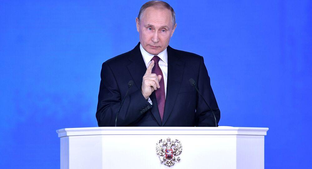 L'intervento del presidente Putin all'Assemblea Federale