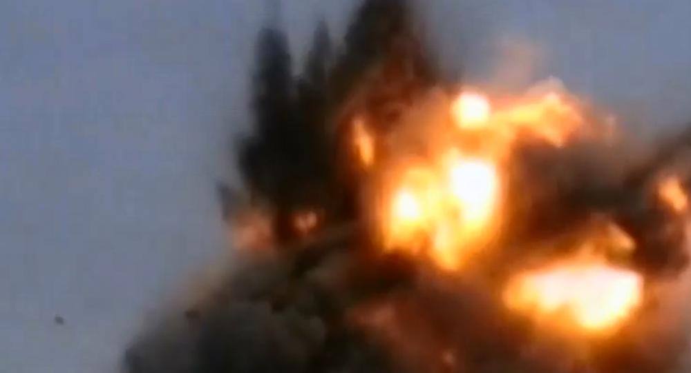 Un fotogramma del video di presentazione del Kinzhal