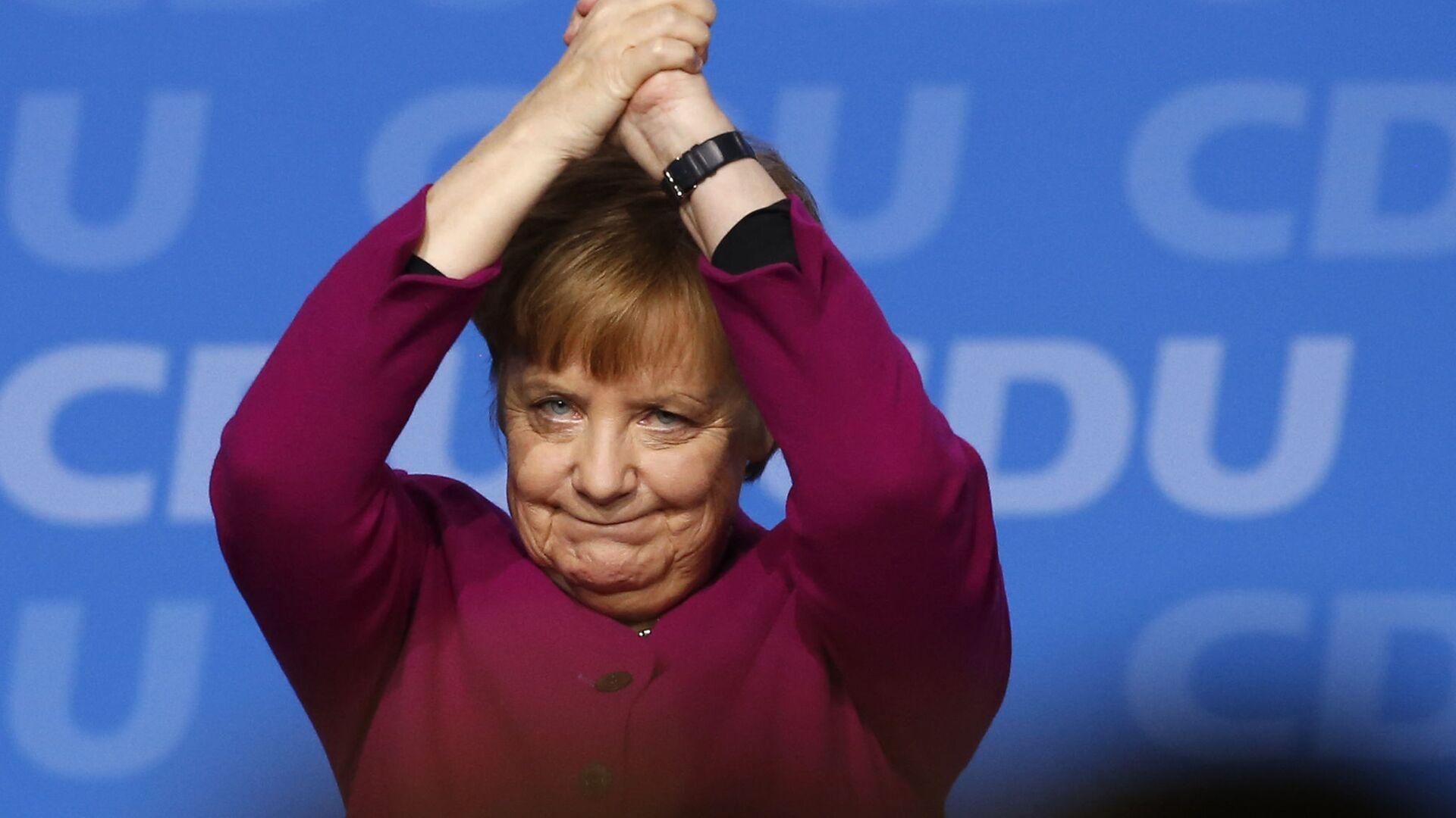 Angela Merkel - Sputnik Italia, 1920, 11.08.2021