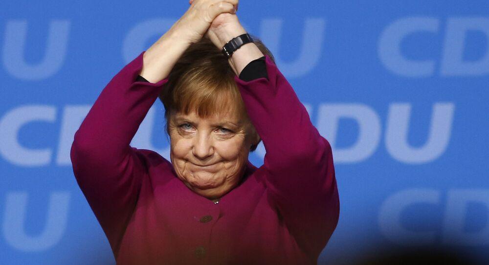 La canceliera della Germania Angela Merkel.