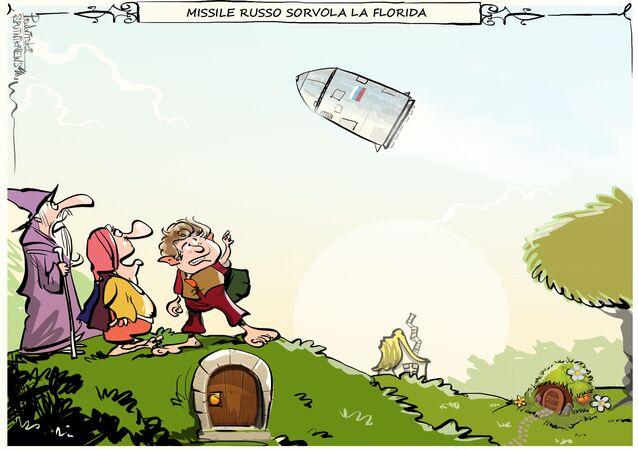 Missile russo sorvola la Florida