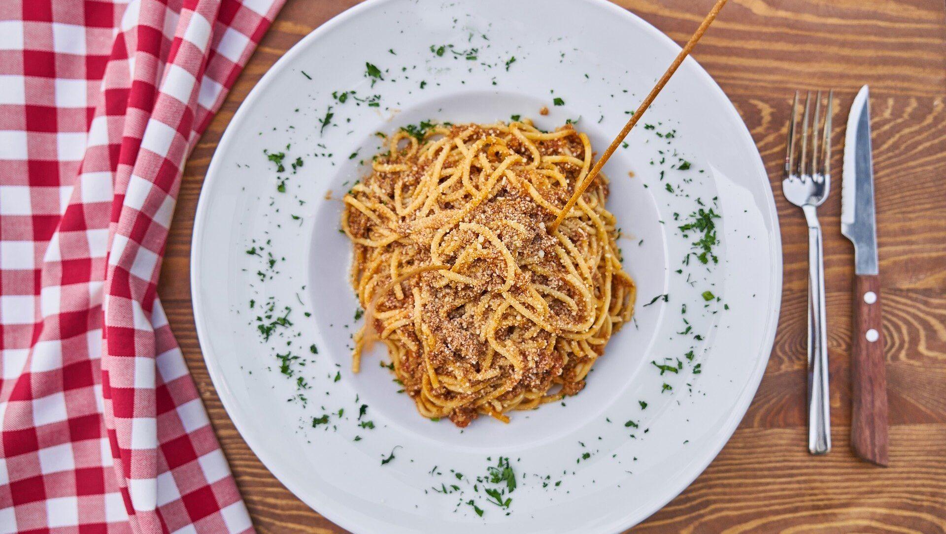 A plate of pasta - Sputnik Italia, 1920, 25.02.2021