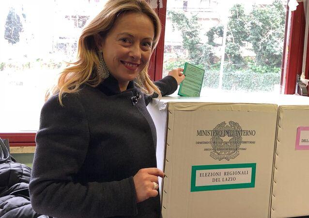 Giorgia Meloni ha votato