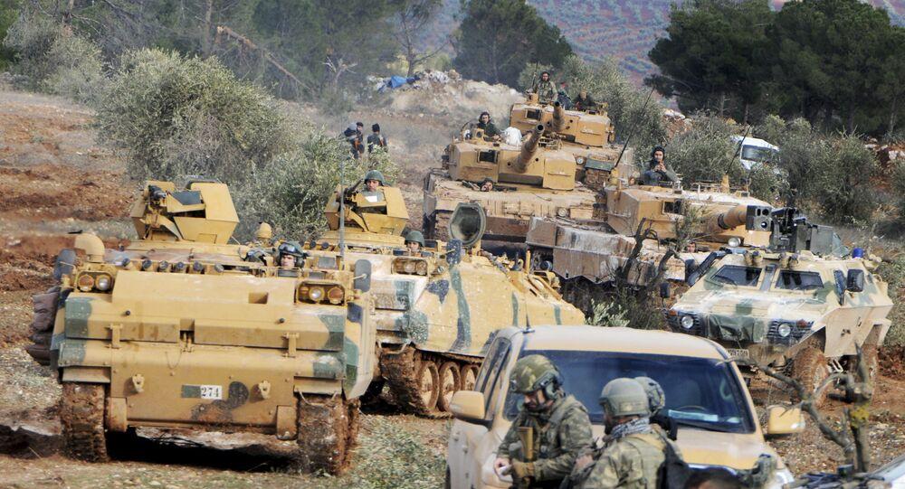 Le truppe turche