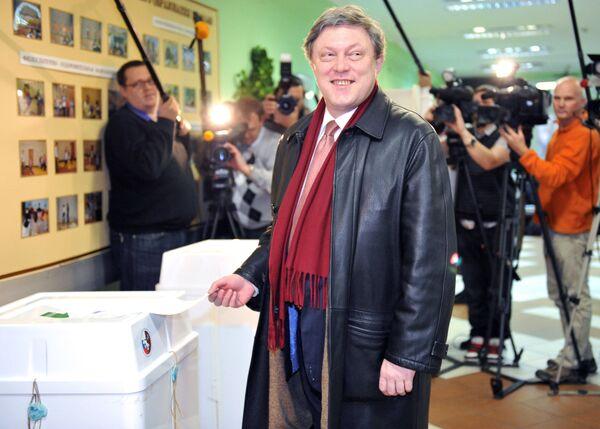 Grigoriy Yavlinskiy, candidato alle presidenziali 2018. - Sputnik Italia