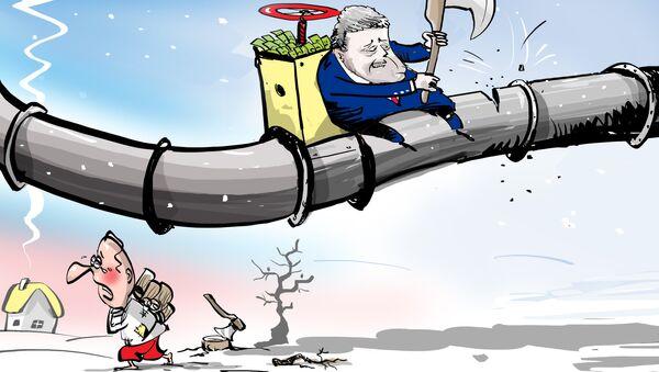 Poroshenko esorta gli ucraini a usare meno gas - Sputnik Italia