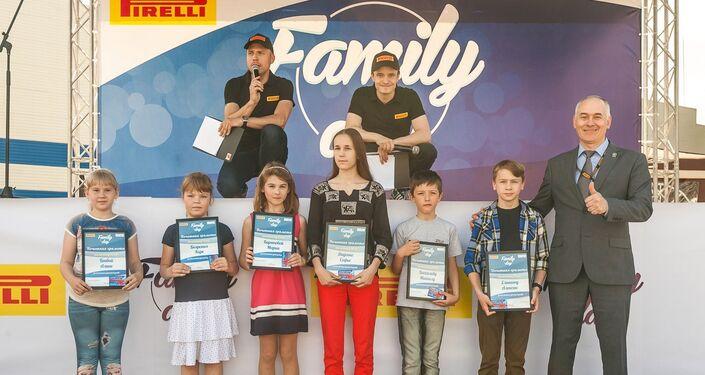 Ogni anno Pirelli organizza manifestazioni ricreative nelle città sede dei suoi stabilimenti in Russia
