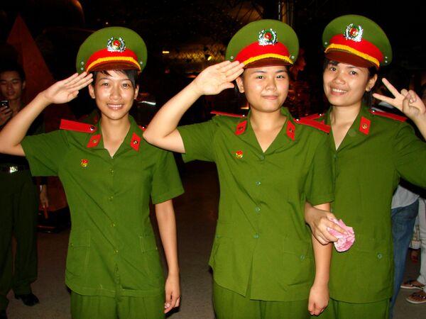 Le donne dell'esercito vietnamita. - Sputnik Italia