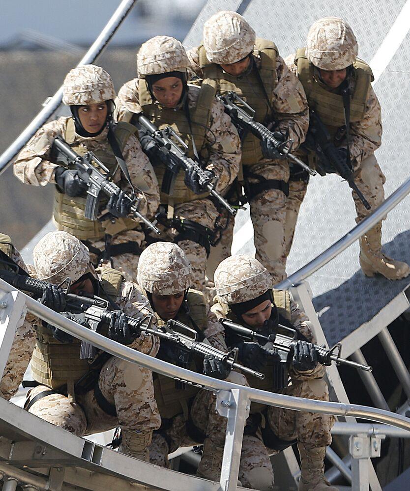 L'unione fa la forza. L'esercito degli Emirati Arabi Uniti.