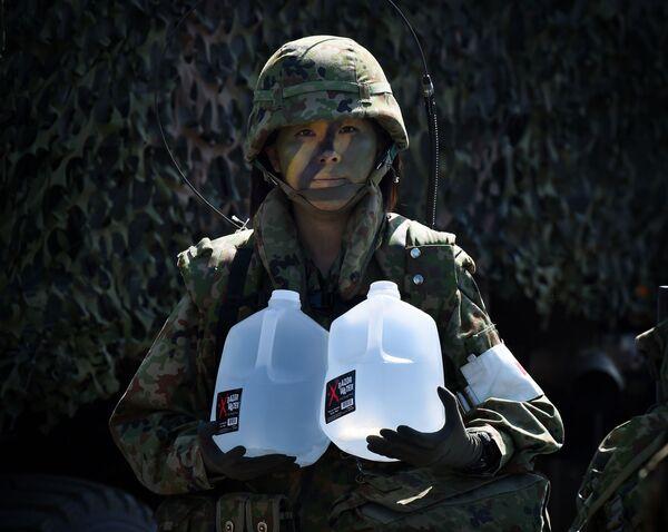 Una donna soldato giapponese. - Sputnik Italia