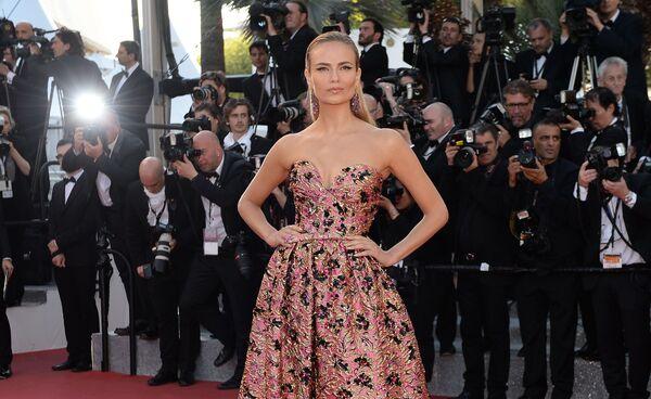 La modella russa Natalya Polevschikova (Natasha Poly) al festival di Cannes. - Sputnik Italia