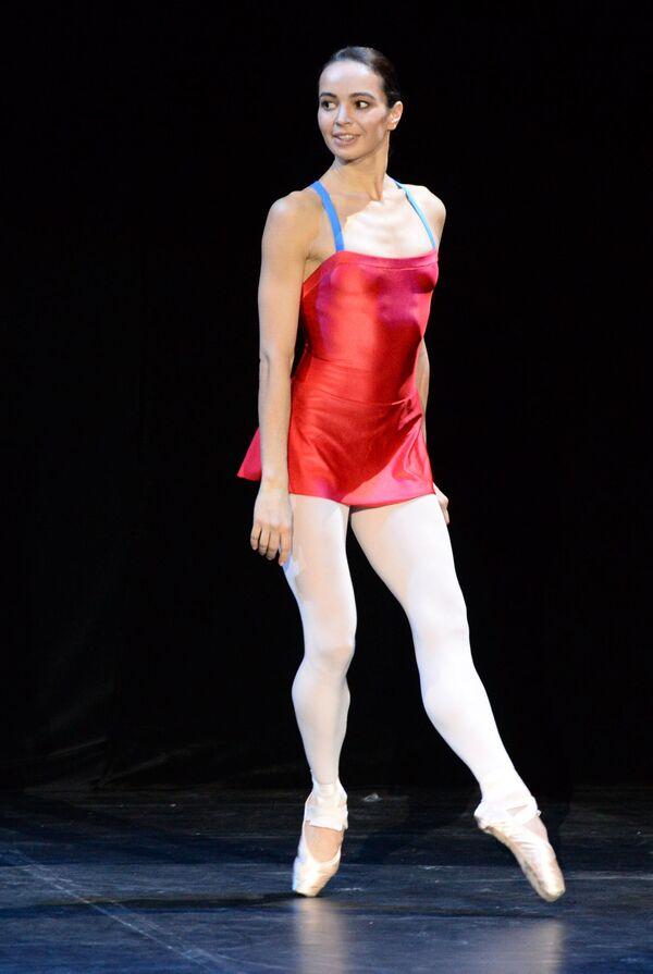 La ballerina Diana Vishneva alle prove a Mosca. - Sputnik Italia