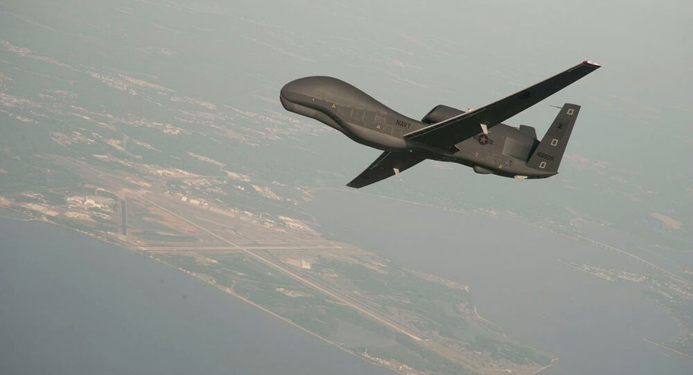 Drone spia USA RQ-4A Global Hawk