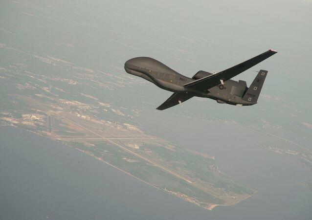 Drone spia USA RQ-4A Global Hawk