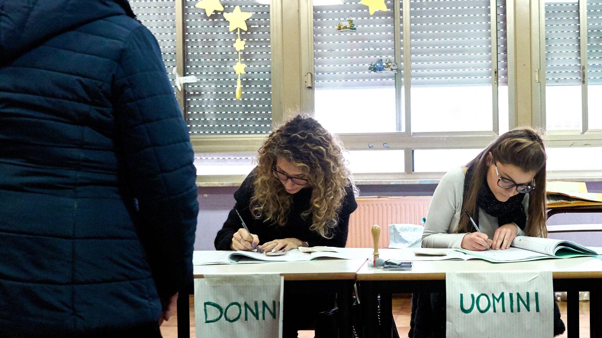Elezioni politiche in Italia - Sputnik Italia, 1920, 29.07.2021