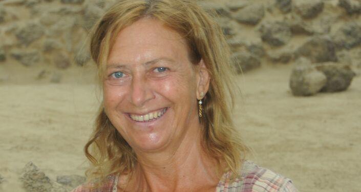 L'archeologa Serena Massa
