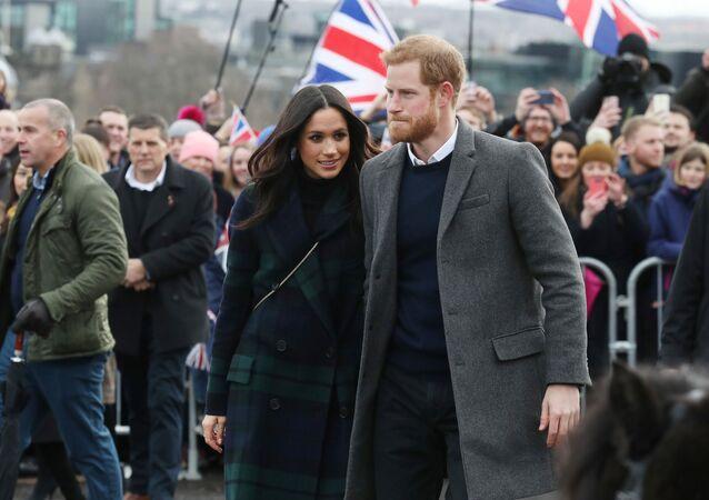 Meghan Markle ed il principe Harry