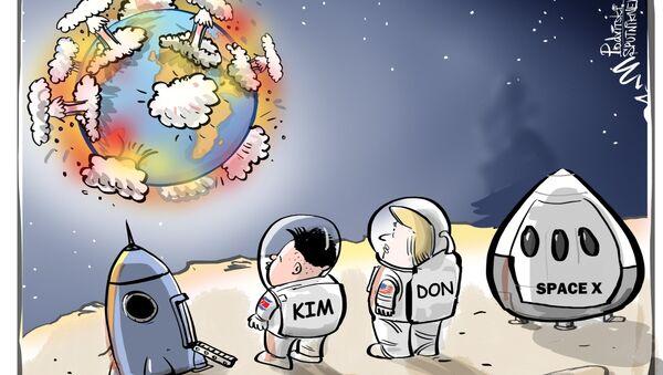 Come sarà l'incontro tra Kim e Donald - Sputnik Italia