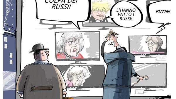 Theresa May accusa la Russia dell'avvelenamento di Skripal - Sputnik Italia