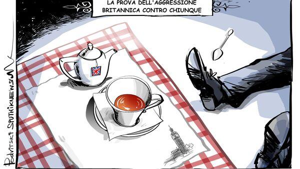 La prova dell'aggressione britannica contro chiunque - Sputnik Italia