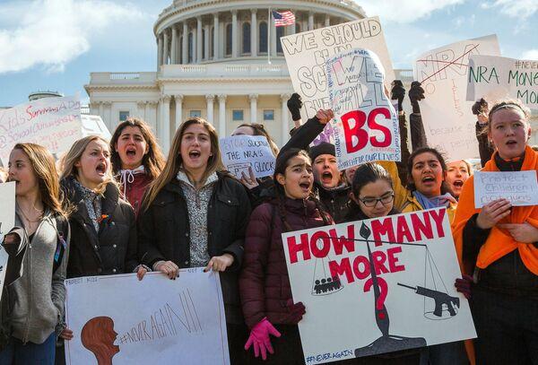 Lo sciopero contro le armi a Washington. - Sputnik Italia