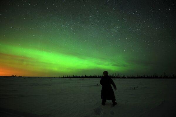 L'aurora polare, Nadym, Russia. - Sputnik Italia
