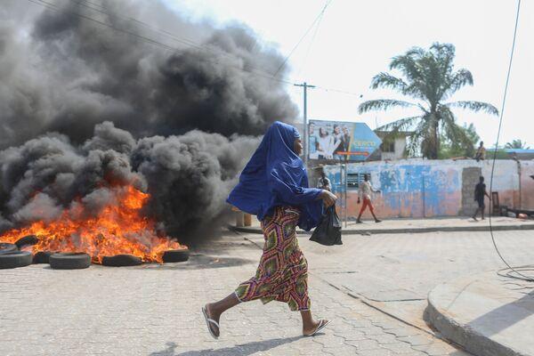 La situazione a Cotonou, Benin. - Sputnik Italia