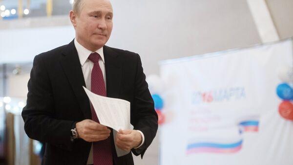 Putin vota alle elezioni Presidenziali - Sputnik Italia